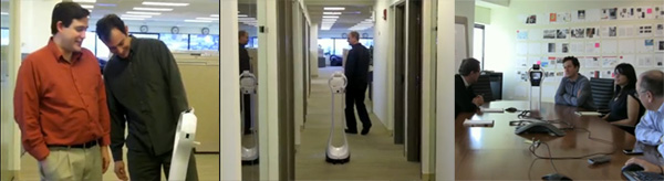 vGo at the Cambridge office of Technology Review
