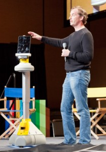 Colin Angle with iRobot AVA at google I/O 2011