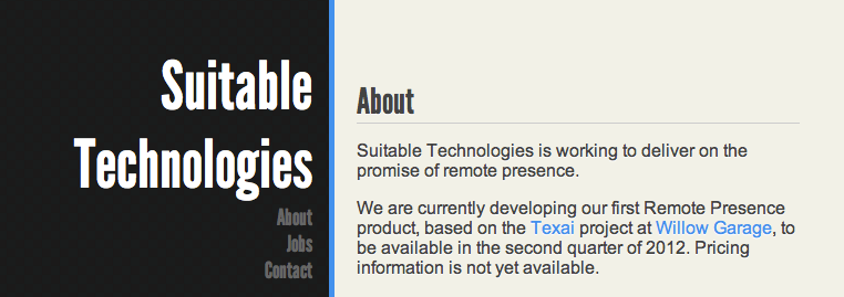 Suitable Tech homepage