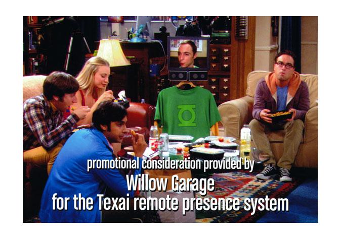 Texai on The Big Bang Theory