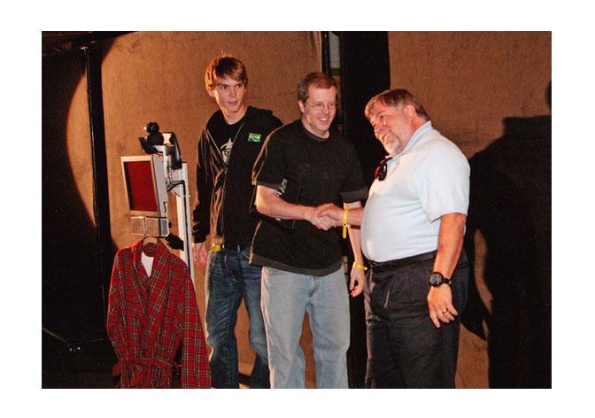 Tom, Curt and The Woz on The Big Bang Theory